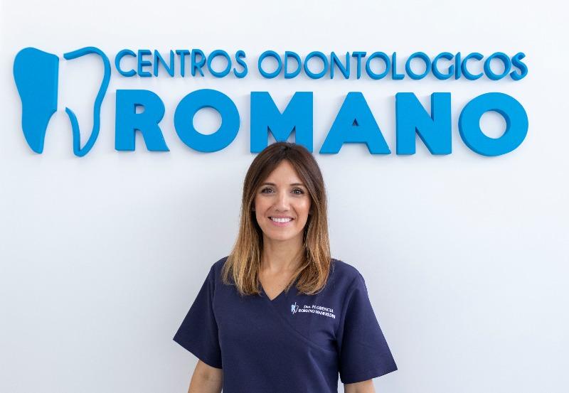 Conocemos a la doctora Flor Romano, especialista en estética de Centros Odontológicos Romano